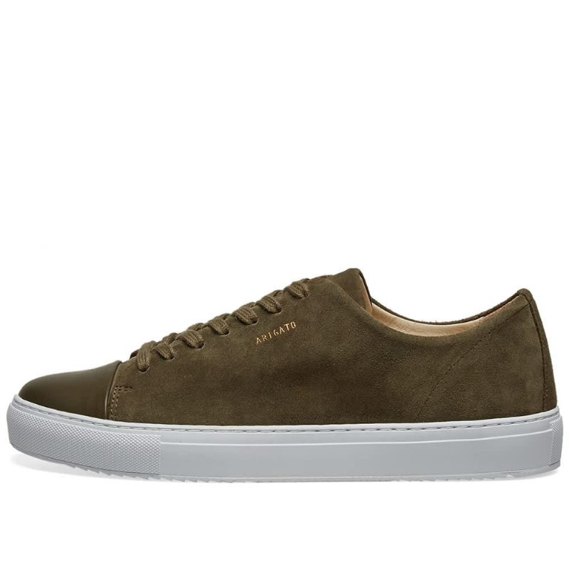 CAP TOE LEATHER - MILITARY GREEN
